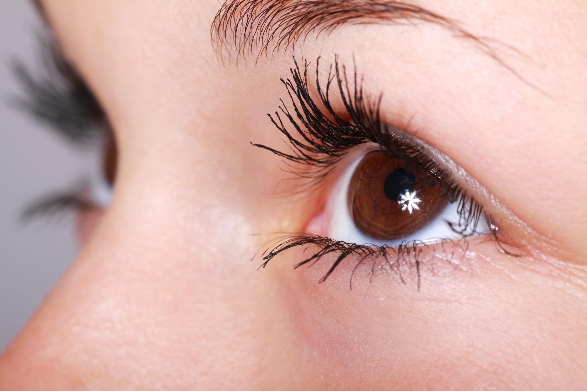 blue brown eye experiment