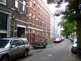 Niet-groene straat