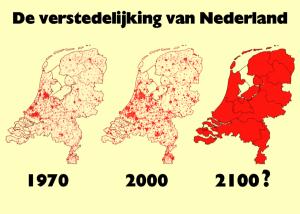 Verstedelijking Nederland