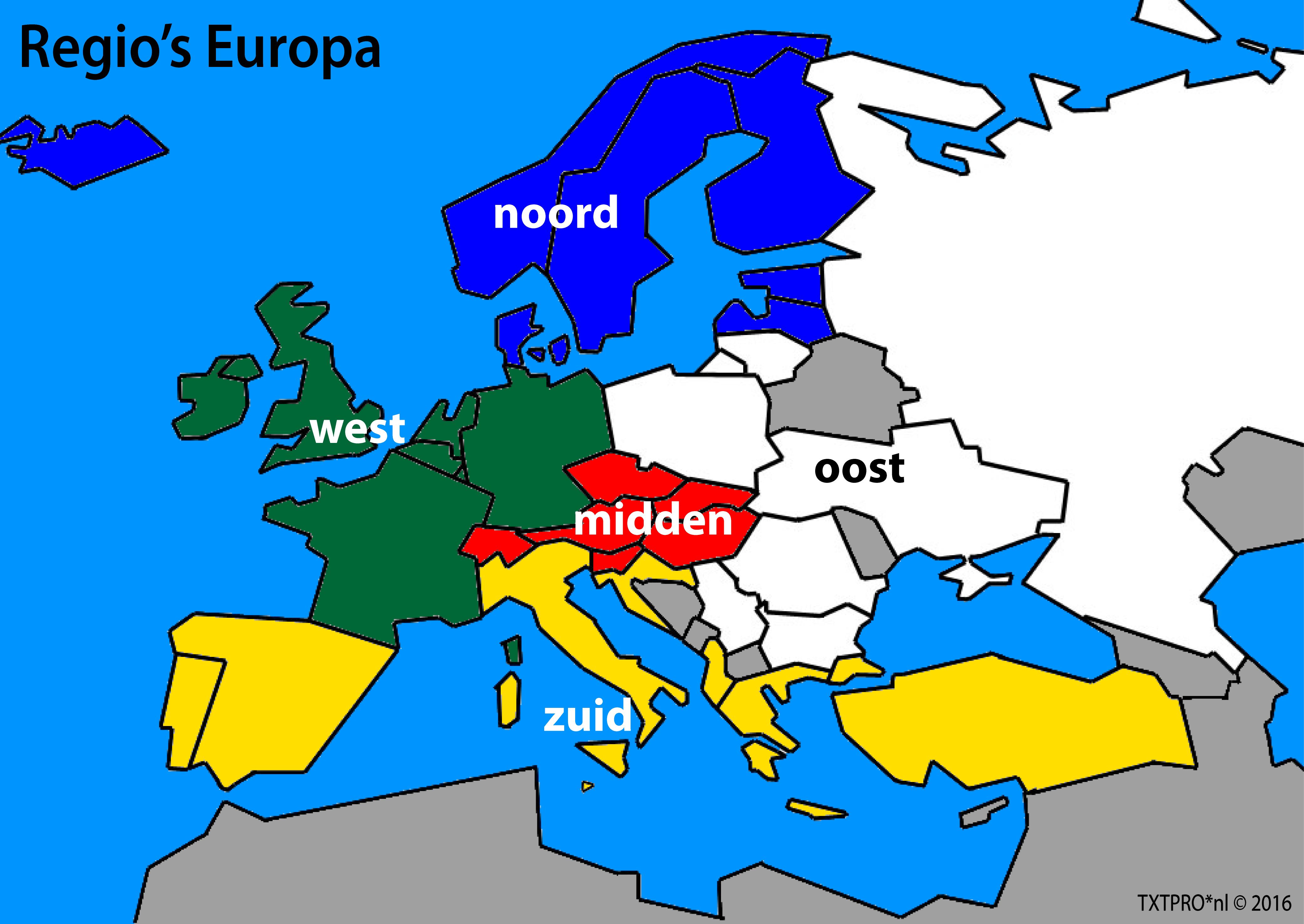 indeling-regio